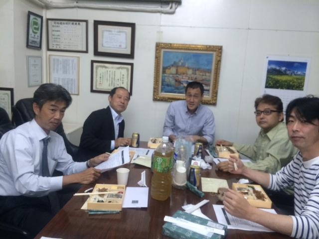 2015年5月12日・関大一高37期同窓会事務局ミーティングの画像